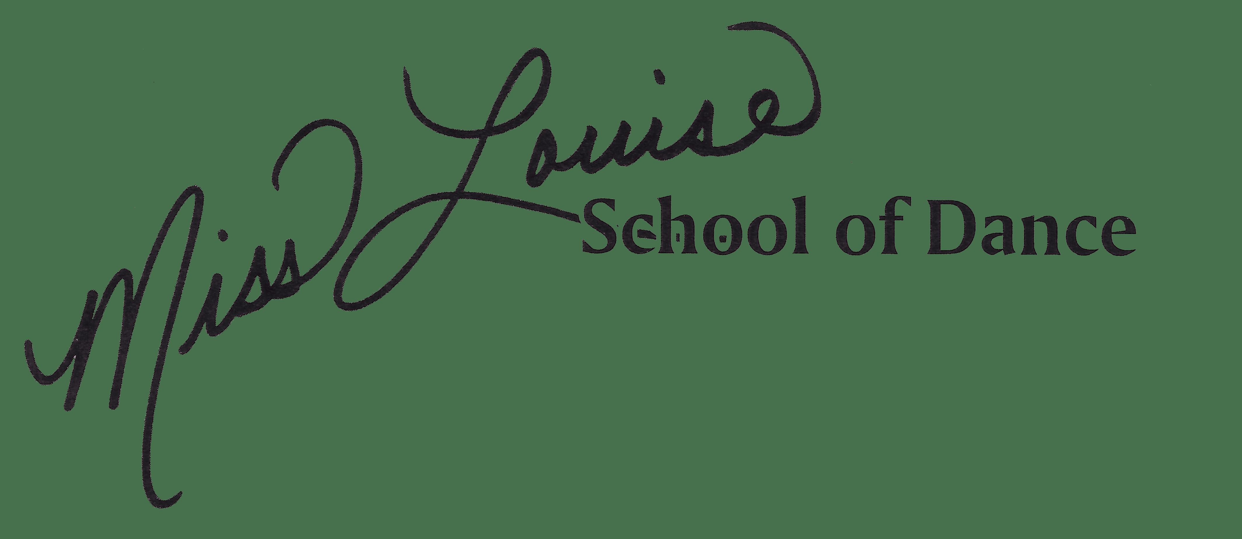 Miss Louise School of Dance Logo